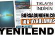 Borsagundem.com iOS uygulaması güncellendi