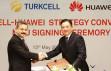 Turkcell ile Huawei'den 'üretim' işbirliği