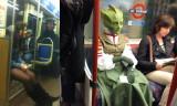 Bu görüntüler metro ve otobüslerde kaydedildi...