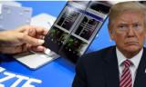 Trump Çinli ZTE'nin yeniden açılmasına izin