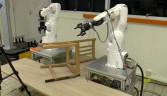 Mobilya monte edebilen robot geliştirildi