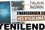 Finansgundem.com iOS uygulaması güncellendi
