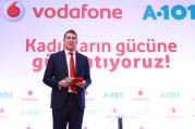 Vodafone ve A101 ev kadınlarını dijitalleştirecek