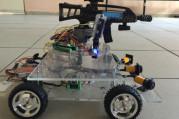 Şehit haberlerine üzülen öğrenciler askeri robot geliştirdi