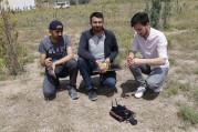 Üniversite öğrencileri mayın arama robotu geliştirdi