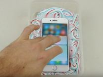 iPhone 7'nin diş macunu ile imtihanı