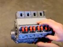 3 boyutlu yazıcıdan Chevrolet Camaro'nun motorunu yaptı