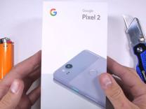Google Pixel 2 dayanıklılık testinde!