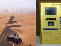 Sadece Dubai`de görebileceğiniz fotoğraflar