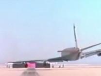 NASA yayınladı, uçak testte işte böyle çakıldı!