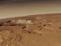 Mars'ta 'akan su' bulunduğu teorisi çöktü