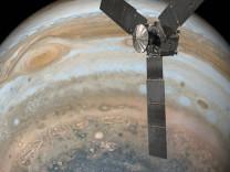 NASA Jüpiter'in yeni görüntüsünü yayımladı