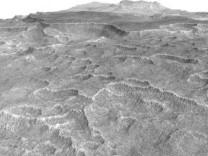 Kızıl Gezegen'den Dünya'ya gelen ilginç Mars fotoğrafları