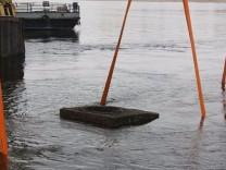 Amatör dalgıç nehirde buldu!