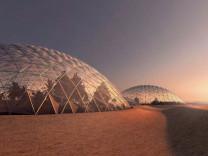 Mars'a kurulacak kentten yeni kareler yayınlandı
