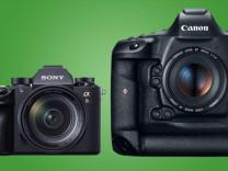 Sony A9 ve Canon 1DX Mark II karşılaştırması