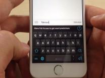 iPhone ile hızlı yazmak için 18 klavye hilesi