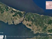 İstanbul'u uzaydan 33 sene boyunca izledi