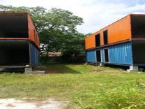 İşte konteyner ile yapılmış sıra dışı evler