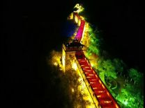 Çin altın haftası'nda ışık gösterileriyle ülkeyi aydınlattı