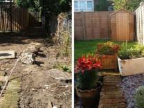 İşte öncesi ve sonrası fotoğrafları