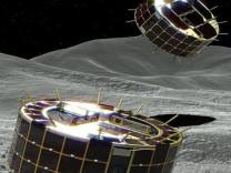 Bir asteroide nasıl inilir?