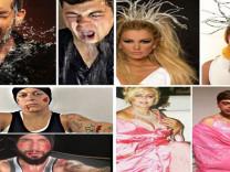 Ünlülerin fotoğraflarını taklit eden fenomenin paylaşımları