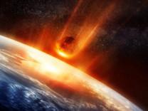 Dünya'ya düşen meteor yok olmuş gezegene ait