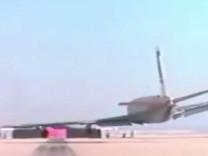 NASA yayınladı, uçak testte böyle çakıldı!