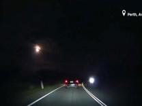 Batı Avusturalya'da büyük bir meteor geçişi gözlemlendi