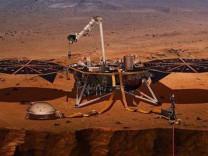 Çin, Mars'a ilk uzay aracını göndermeye hazırlanıyor