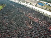 Çin'in bisiklet mezarları