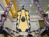 James Webb Uzay Teleskobu kritik testi geçti