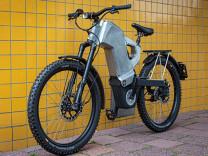 Tank konseptli elektrikli bisiklet