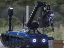 Yerli bomba imha robotu Ertuğrul İstanbul'da görev başında