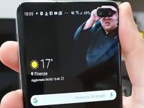 Samsung'un ön kamerasına ilginç çözümler