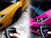 Otomobiller tek tuşla renk değiştirecek