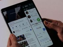 Galaxy Fold'un ekranı satışa çıkmadan bozuldu