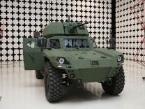 Türkiye'nin ilk elektrikli zırhlı aracı Akrep II görücüye çıktı