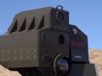 Milli lazer silahı göreve hazır