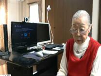 Dünyanın en yaşlı bilgisayar oyuncusu 90 yaşındaki Mori rekorlar kitabına girdi