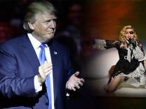 Hacker'lardan Donald Trump ve Madonna için tehdit ve fidye talebi