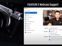 Fujifilm fotoğraf makinelerini Webcam'e çeviren uygulamasını yayınladı