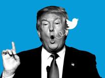 Trump ve Twitter arasındaki savaş kızışıyor! Şimdi de fotoğrafını kaldırdılar