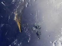 Volkanik ada 7 yılda 12 kat büyüdü! NASA uzaydan görüntüledi