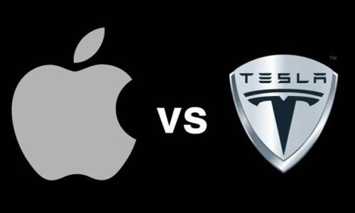 Tesla ve Apple arasındaki savaş kızışıyor!