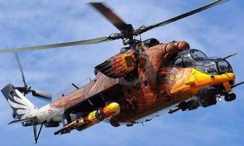 Dünyanın en iyi 10 savaş helikopterleri