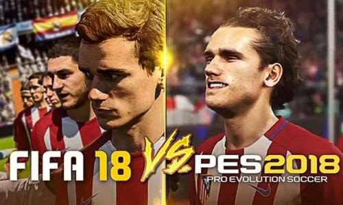 PES 2018 mi FIFA 18 mi? Karar sizin
