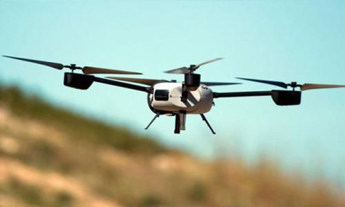 Uçak iniş yaparken drone ile çarpıştı