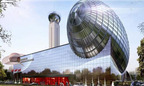 Bursa'da astronot yetiştirecek merkezin inşaatı yükseliyor!